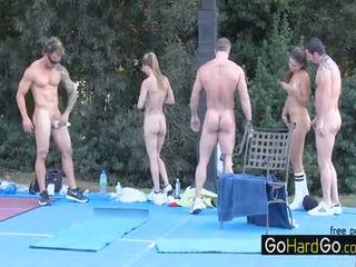nóng nhóm quan hệ tình dục kiểm tra, nóng nhất bộ ngực to hơn, doggystyle đẹp