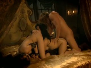 group sex, rough, licking