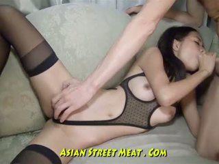 Öga winking thailändska anala bimboen