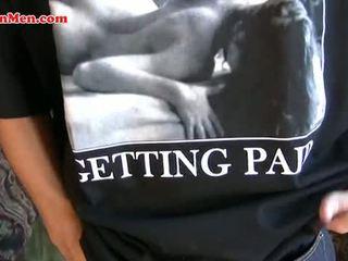 Bi Latin uncut gay cock