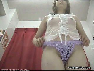 Underkläder changing rum