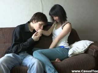 sexe de l'adolescence, amateur porn, forage teen pussy