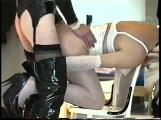 Amateur fetished crossdressers bonking