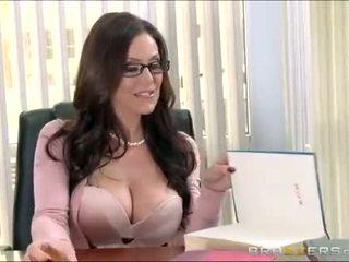 熱 圖書管理員 probes 她的 的陰戶 由 一 振子 和 c