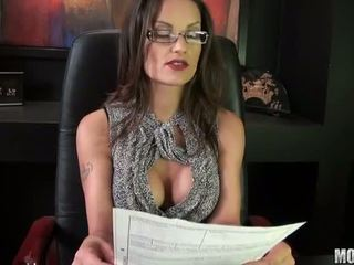 brunette, geneukt, office sex