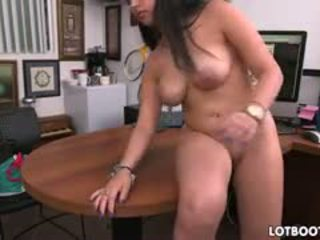 fun brunette, ideal big boobs, quality doggystyle great