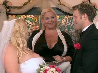 ของฉัน ใหญ่ อวบ งานแต่งงาน ส่วนหนึ่ง สี่
