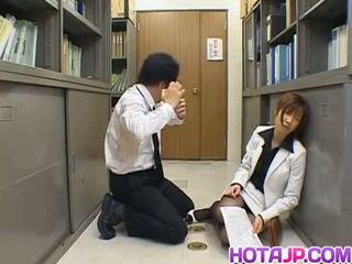 Misaki inaba kissed trên nylon