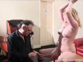 bundet, sexig, fetisch