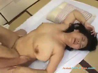 Debeli zreli ženska getting ji muca zajebal s a mlada guy