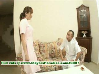 Myuu hasegawa innocent guapa china chica gets teased