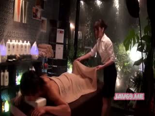 Bonita cachonda asiática chica having sexo