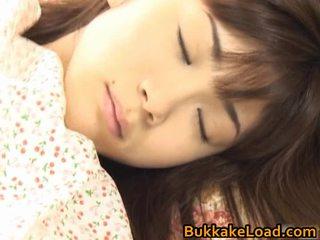 Asuka ohzora hawt الآسيوية نموذج acquires جنس cream