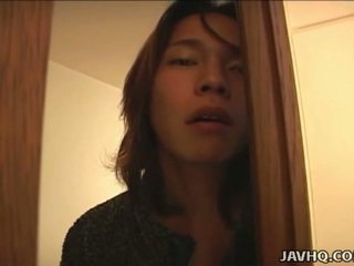 Japán tini gets trágár -ban a bath uncensored