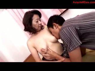 matur, mamele și boys, asiatic