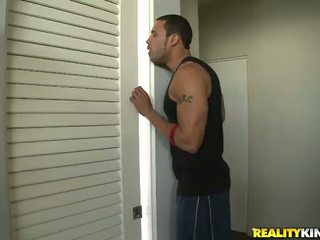 Jessi palmer seduces її neighbour і takes a сидіти onto onto його mighty хуй