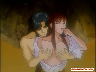 Japoneze hentai mami nxehtë qirje nga bald