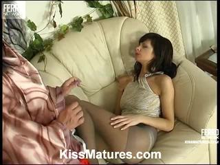 lesbian sex, porn girl and men in bed, euro porn