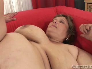 bbw, grosse titten, cumshot