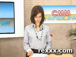 Nyheter reporter gets bukakke under henne arbete (maria ozawa bu