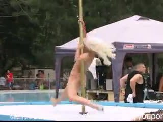 Stripper Pole Dancing Party