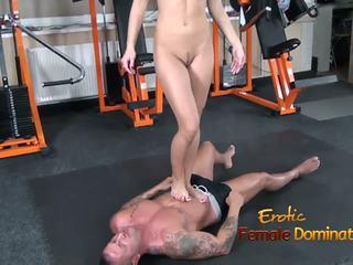 voet fetish, masturbatie, femdom