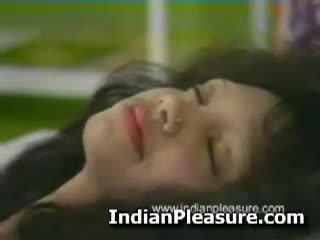 Horny hairy pussy indian babe masturbating.