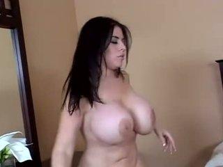брюнетка, вагинален секс, anal sex