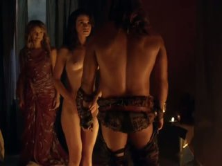 Spartacus セックス シーン complication