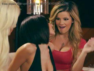 Adriana sephora, elsa jean en darcie dolce lesbisch plezier