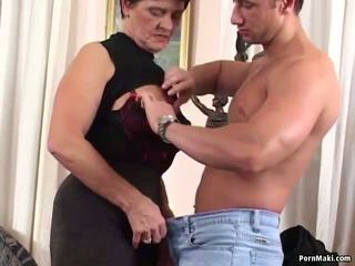 German Granny is Not too Old for Fucking, Porn 50