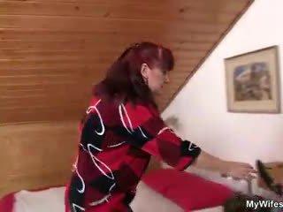 Lewd mother-in-law toying kanya inahit puke then takes kaniya titi