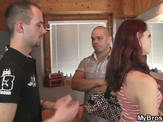 Bros GF Rides another Dick as Her BF Leaves: Free Porn 8f