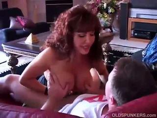 брюнетка, оральний секс, оральний