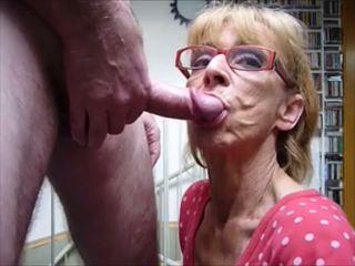 blowjobs, sperma në gojë, grannies