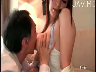japanisch, große brüste, baby