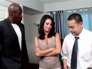 امرأة سمراء حار, أكثر الجنس عن طريق الفم كامل, deepthroat سخونة
