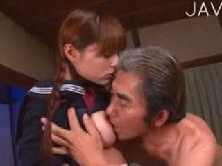 japonais, vieux + jeune, uniforme