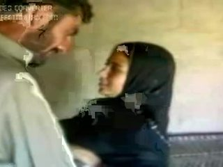 mergina, arabų, karštas