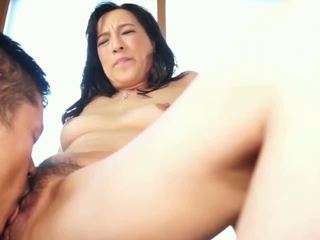일본의, 성숙, 섹스하고 싶은 중년 여성
