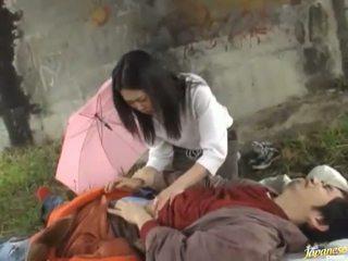 Smut warga thai faraj menggerudi oleh terkejut!