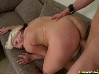 Bryttani acquires to doggystyle a loving to.