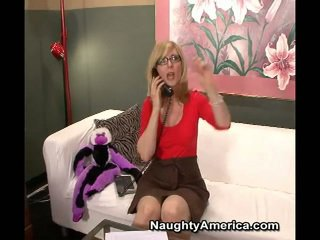 Erotic Milf Nina Hartley Makes Sons Bu...
