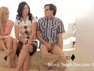 Майки преподавам секс