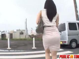 japonec, nadržený, autobus