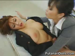 Futanari tastes خاص بوضعه!