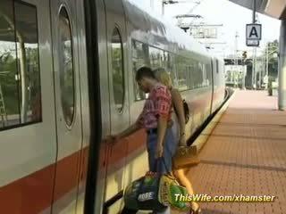Neuken in de trein