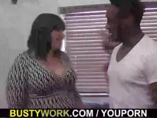 bbw, working women, lady boss