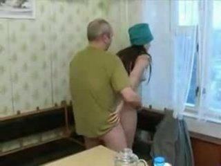 Hot 19 yo Teen screwing an old man!