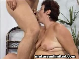 Old lady fuck by hugh cock
